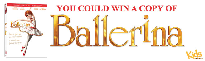 Ballerina Blu-ray contest