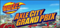 BLAZE AND THE MONSTER MACHINES: AXLE CITY GRAND PRIX DVD Contest
