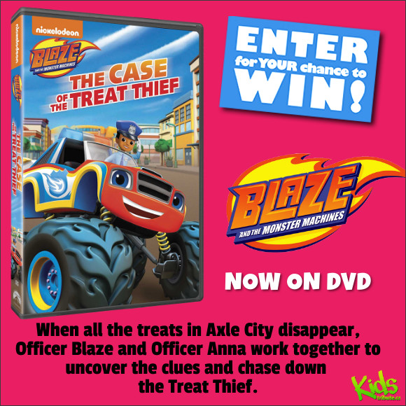 Blaze and the Monster Machines DVD Contest