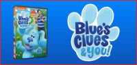 BLUE's CLUES & YOU! DVD Contest