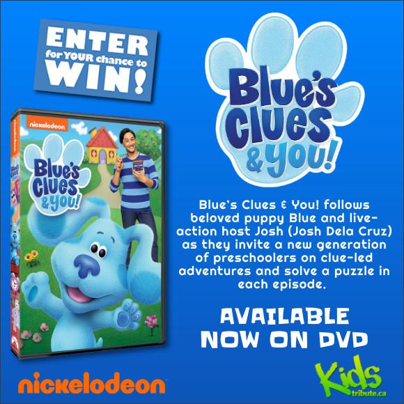 BLUE'S CLUES & YOU! DVD Contest
