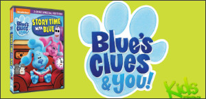 BLUE'S CLUES & YOU! STORY TIME WITH BLUE DVD Contest