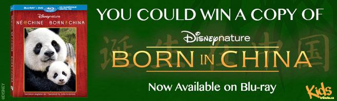 Born In China Blu-ray contest