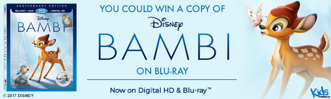 Disney Bambi Blu-ray contest