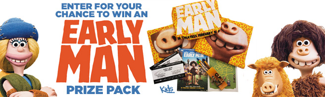 Early Man Prize Pack and Passes contest