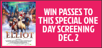 Enter for your chance to win a family pass for four to see
