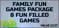 Kids Tribute FAMILY FUN GAMES Contest