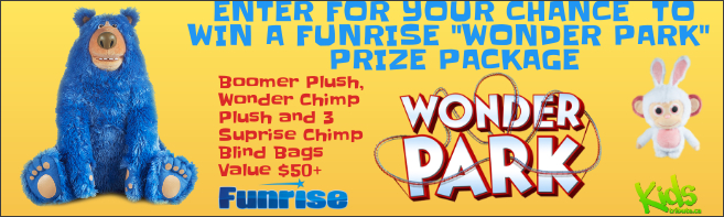 Kids Tribute FUNRISE WONDER PARK PRIZE PACKAGE contest
