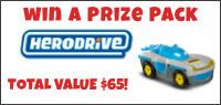 Kids Tribute HERODRIVE PRIZE PACK contest