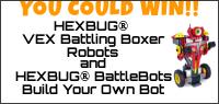 Kids Tribute HEXBUG Battle Robots & Build Bot Prize Pack contest