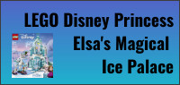 Kids Tribute LEGO Disney Princess Elsa's Magical Ice Palace contest