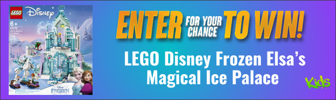 Kids Tribute LEGO Disney Princess Elsa's Magical Ice Palace contest