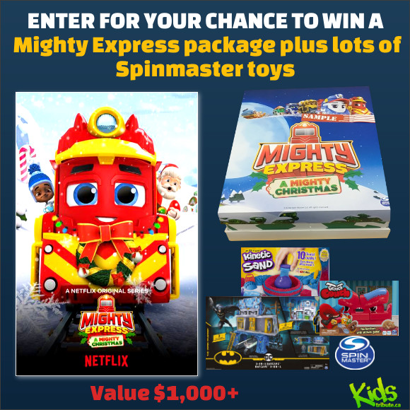 Enter for your chance to win a MIGHTY EXPRESS Prize Pack. Valued over $1,000