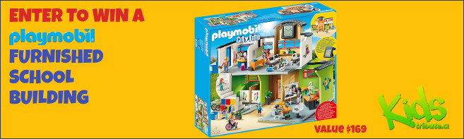Kids Tribute PLAYMOBIL FURNISHED SCHOOL BUILDING contest