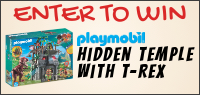 Kids Tribute & PLAYMOBIL HIDDEN TEMPLE WITH T-REX Building Set contest