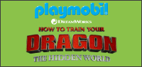 Enter to win one of four Playmobil Dragon sets.