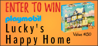 Kids Tribute & PLAYMOBIL LUCKY'S HOUSE PLAYSET contest