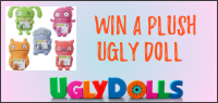 "Enter for a chance to win an UGLY DOLL PRIZE PACK ""Ugly Dolls"" in theatres everywhere May 3."