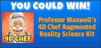 Kids Tribute PROFESSOR MAXWELL'S 4D CHEF contest