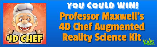 Kids Tribute PROFESSOR MAXWELL'S 4D CHEF contest