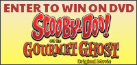 Kids Tribute SCOOBY-DOO! AND THE GOURMET GHOST DVD contest