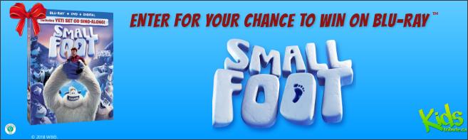Kids Tribute SMALLFOOT Blu-ray contest