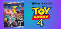 "Enter for your chance to win ""TOY STORY 4"" on Blu-ray. On Digital Oct.1, On Blu-ray Oct. 8"