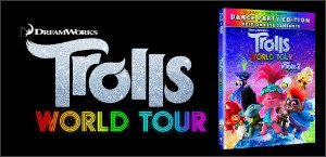 Kids Tribute TROLLS WORLD TOUR Blu-ray Contest