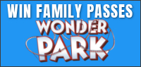 "Enter for your chance to win passes to an advance screening of ""WONDER PARK"" or passes to see the movie when it opens in theatres March 15 (The advance screenings portion of this contest closes March 6)"