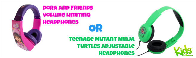 KIDS TRIBUTE Your CHOICE OF HEADPHONES contest