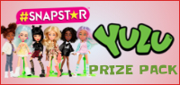 Enter for your chance to win a YULA PRIZE PACK. Contains #SNAPSTAR, Pop Pop Pets Deluxe Pack and Pop Pop Snotz Deluxe Pack. Value $31