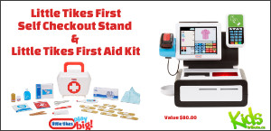 LITTLE TIKES FIRST SELF CHECKOUT AND LITTLE TIKES FIRST AID KIT Contest
