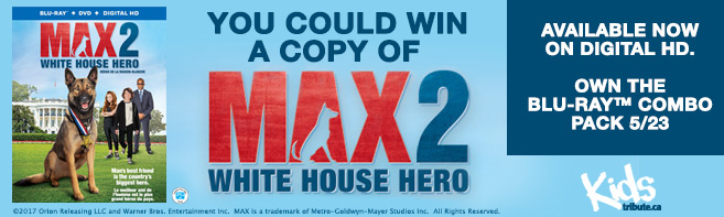 Max 2 White House Hero Blu-ray contest