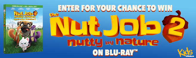 Nut Job 2 Nutty By Nature Blu-ray contest