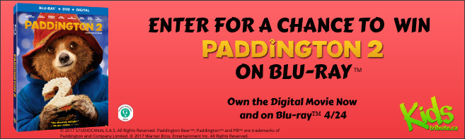 Paddington 2 Blu-ray contest
