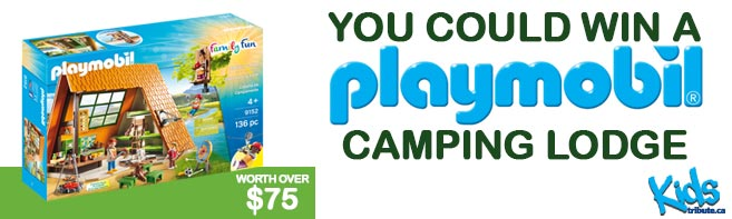 Playmobil Camping Lodge contest