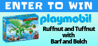 Playmobil Ruffnut and Tuffnut with Barf and Belch set