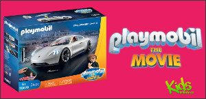 PLAYMOBIL:THE MOVIE Rex Dasher's Porsche Mission E contest