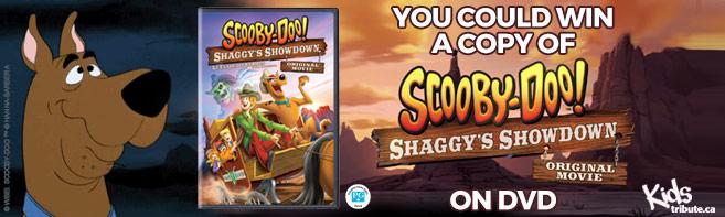 Scooby-Doo! Shaggy's Showdown DVD contest