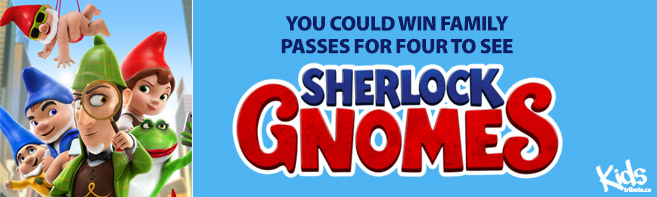 Sherlock Gnomes Pass contest