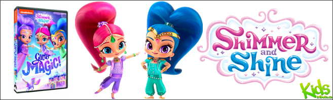 SHIMMER AND SHINE: GLITTER MAGIC! DVD Contest