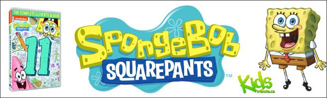 SPONGEBOB SQUAREPANTS: THE COMPLETE 11TH SEASON DVD contest