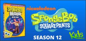 SPONGEBOB SQUAREPANTS: THE COMPLETE TWELFTH SEASON DVD Contest