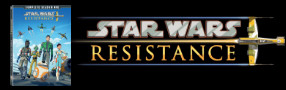 """Enter for your chance to win """"STAR WARS RESISTANCE: Season One"""" on DVD. Available Now! Banner"""
