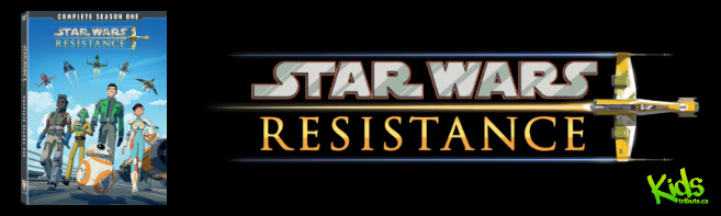 STAR WARS RESISTANCE: Season One DVD contest
