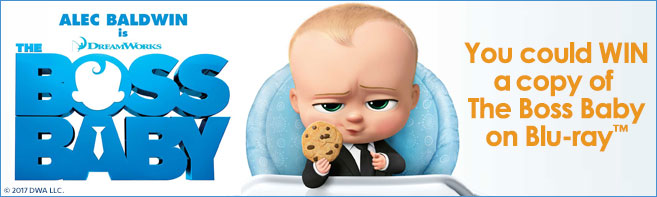 The Boss Baby Blu-ray contest