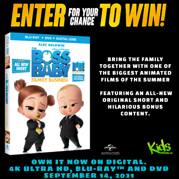 THE BOSS BABY: FAMILY BUSINESS Blu-ray Contest