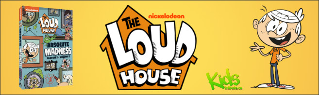 THE LOUD HOUSE: ABSOLUTE MADNESS - SEASON 2, VOLUME 2 DVD Contest